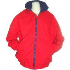 BLREDJN Bee Promoted Red and Navy Junior Blouson Jacket